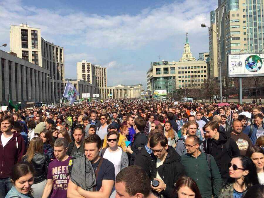фото: митинг в поддержку telegram