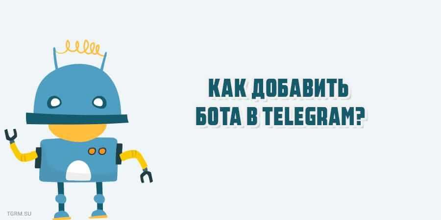 как добавить бота в телеграм картинка