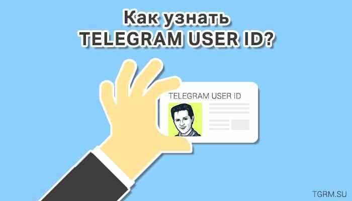 картинка: как узнать telegram user id