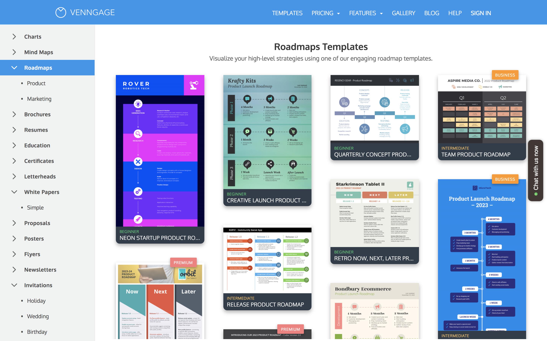 Шаблоны инфографики для бизнеса