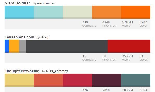 готовые цветовые решения и шаблоны