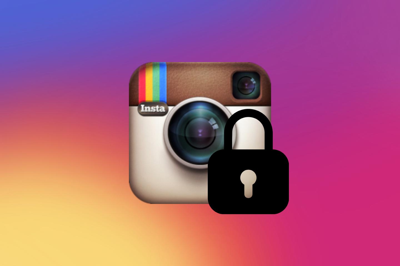Автоматическая блокировка Instagram при регистрации