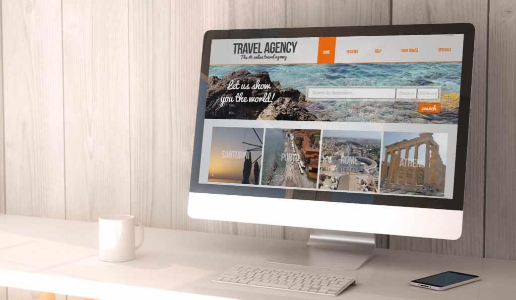 Как создать сайт для турагента
