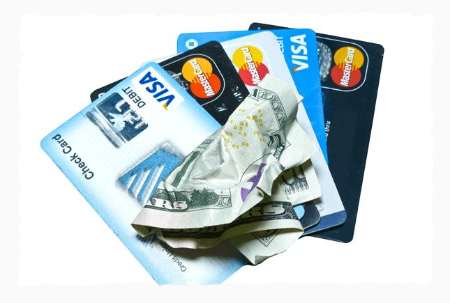 Деньги и кредитные карты - альтернатива криптовалюта