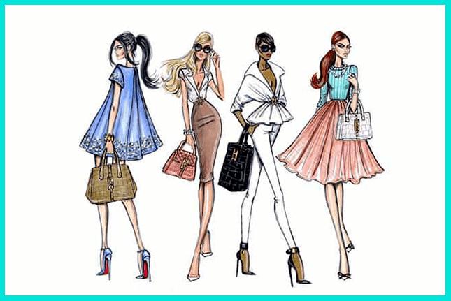 Fashion-скетчинг - модные зарисовки