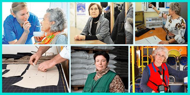 Где найти работу женщине пенсионерке