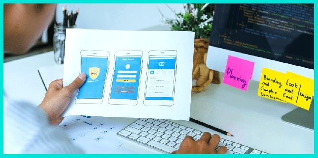 Мобильный разработчик создает приложения для мобильных устройств