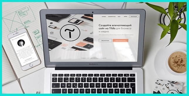 Тильда отлично подходит для создная презентаций онлайн