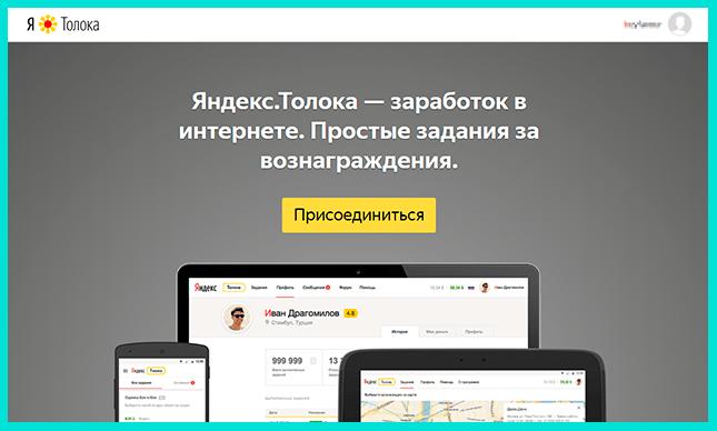 Яндекс Толока для заработка на Айфон