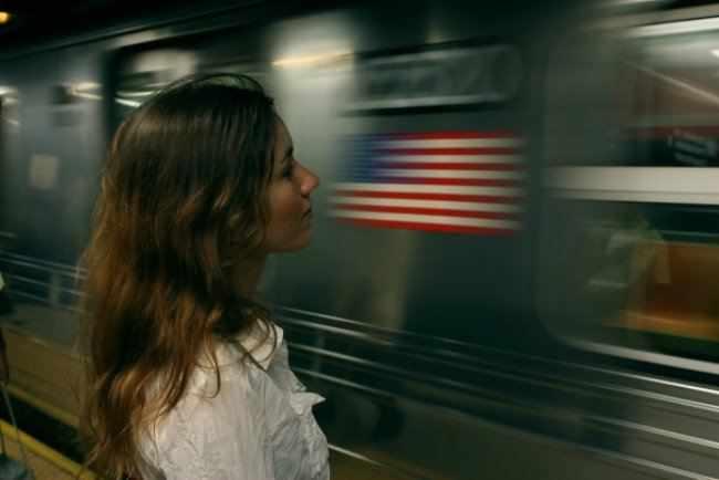 Я в нью-йоркском метро