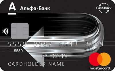 Кредитная карта Cash Back отзывы