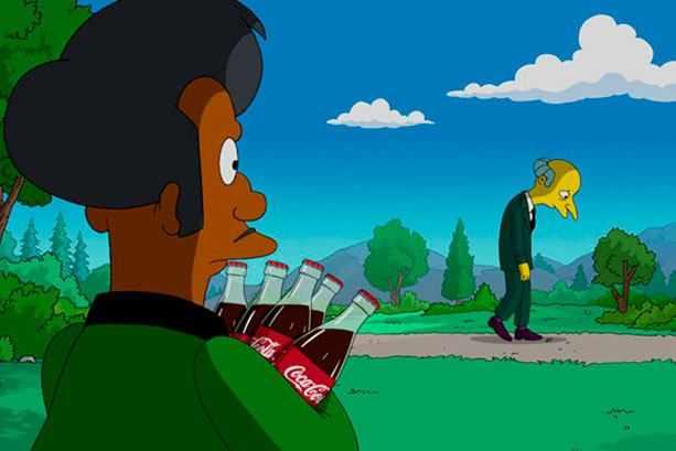 """Кадр из """"Симпсоны"""""""