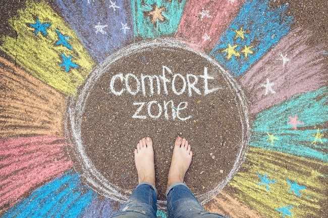 Не засиживайтесь в зоне комфорта