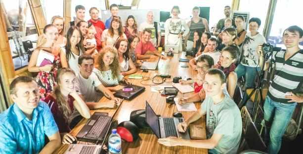 Встреча фрилансеров на Бали