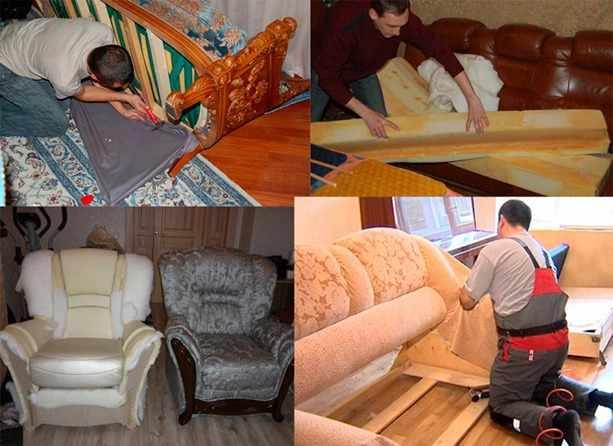 Перетяжка мебели дома – прибыльное дело