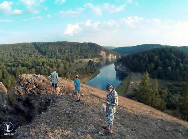 Скалы Сарын-Таш на реке Белой