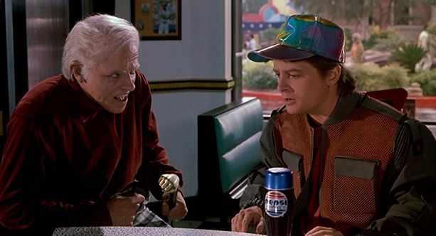 Ненавязчивая реклама Pepsi