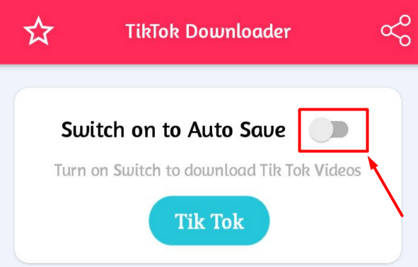Switch on to Auto Save
