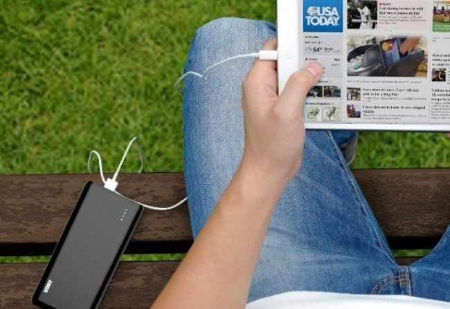 Зарядка планшета от внешнего аккумулятора