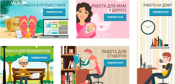 Сайт rabotadoma2.ru