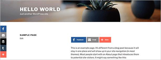 AddThis – плагин для WordPress