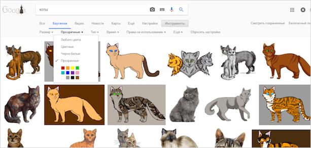 Ищем картинку кота