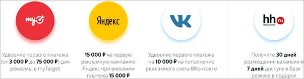 Бонусы для ИП от партнеров Сбербанка