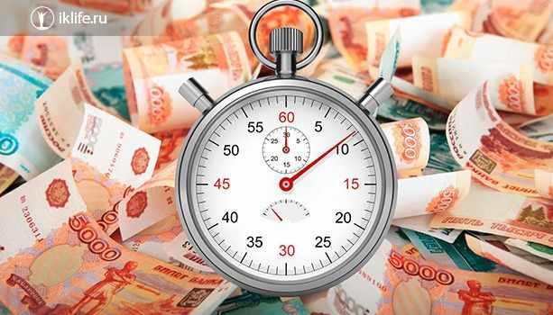 Скорость оформления заявки на кредит