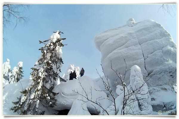 Каменный город зимой