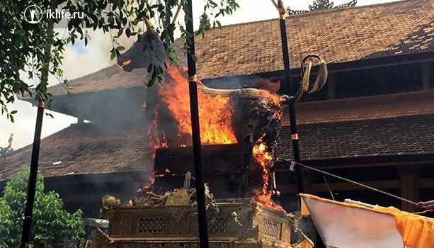 кремация на Бали